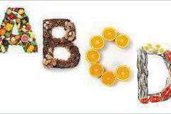 Пейте витамины от прыщей А Е B C
