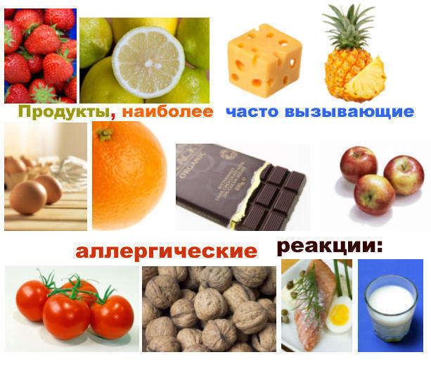 алергенные продукты