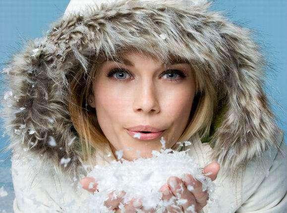 Воздействие мороза на кожу лица