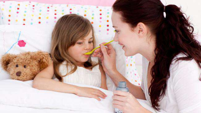 Детский кашель от аллергии