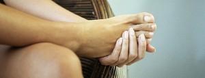 Симптоматика гигромы на ноге
