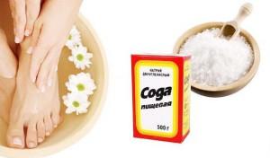 Лечение народными средствами грибка на ногтях ног
