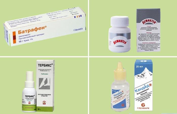Какие можно принимать препараты от грибка ногтей