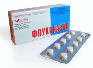 На фото: таблетки Флуконазол