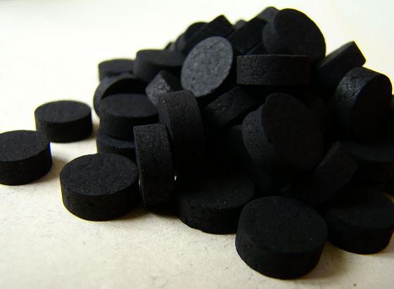 На фото: Активированный уголь