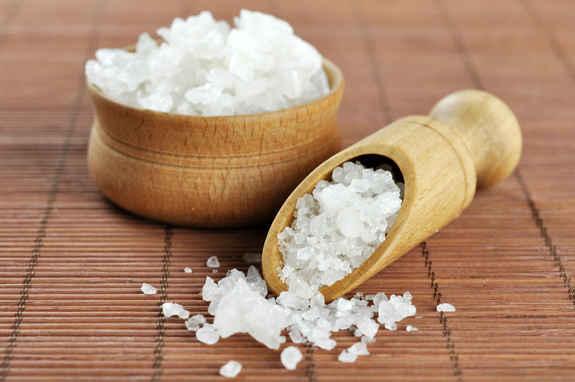 На фото: Морская соль