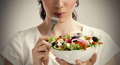 На фото: Правильное питание