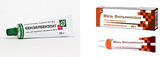 На фото: Препараты от чесотки