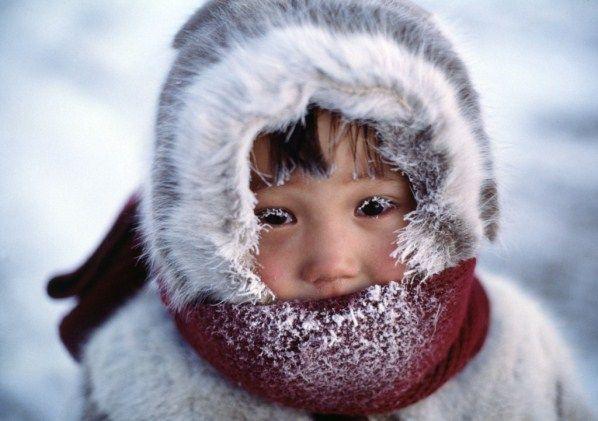 На фото: Холод