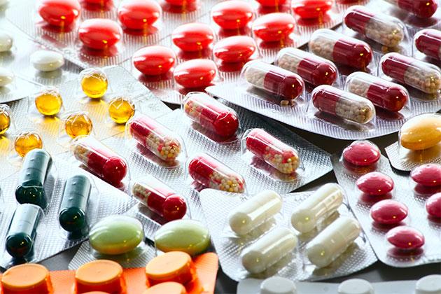 На фото: антигистаминные препараты